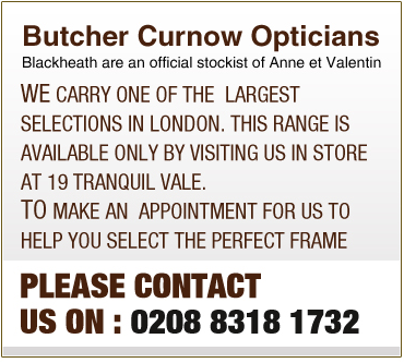 DUBAI | Anne et Valentin at Butcher Curnow Opticians Blackheath